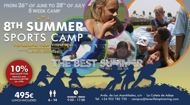 8th Summer Sports Camp