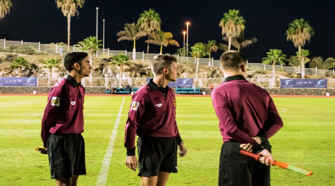 the service at Tenerife Top Training also means, that we get a referee team for your friendly game. Contact us for the booking conditions at Tenerife Top Training