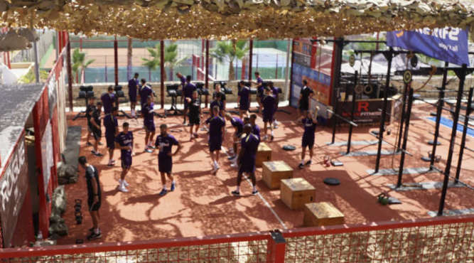 Check out the training equipment at Tenerife Top Training