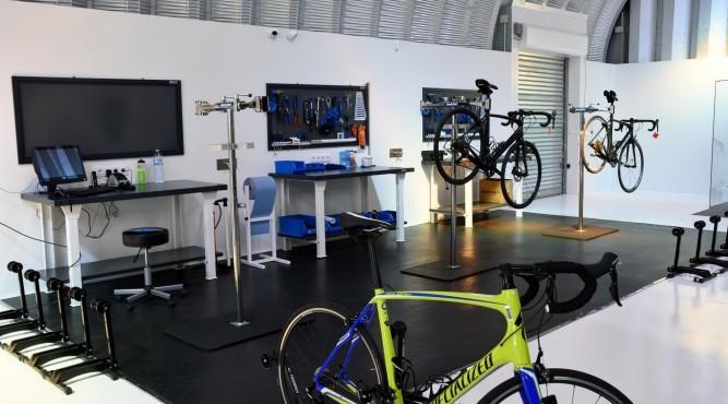 analytic area at FreeMotion. Check your cycling skills and improve your performance at Tenerife Top Training.
