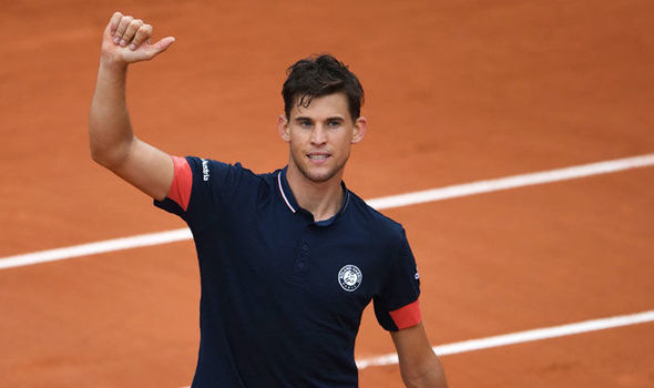 Dominic Thiem currently is in the Top10.