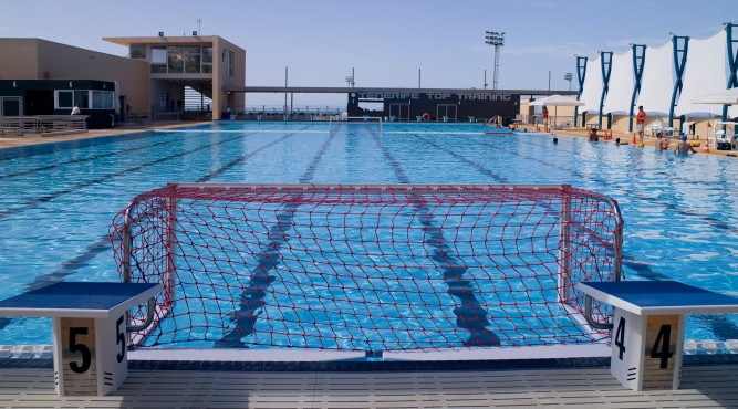 we have modern equipment for waterpolo and other sport you would like to do in the pool