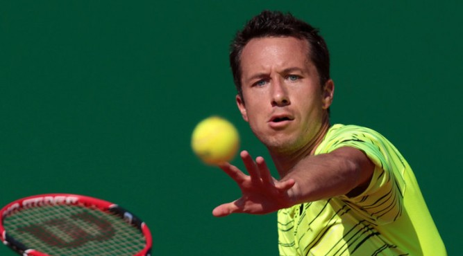 Phillipp Kohlschreiber is a famous tennisplayer who came to Tenerife Top Training for a tennis trainingcamp