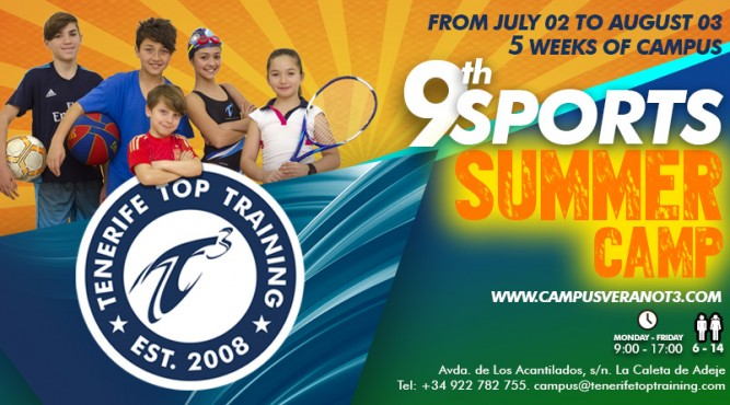 Flyer 9th Sports Summer Camp
