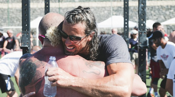 Happy Faces at the end of a CrossFit competition