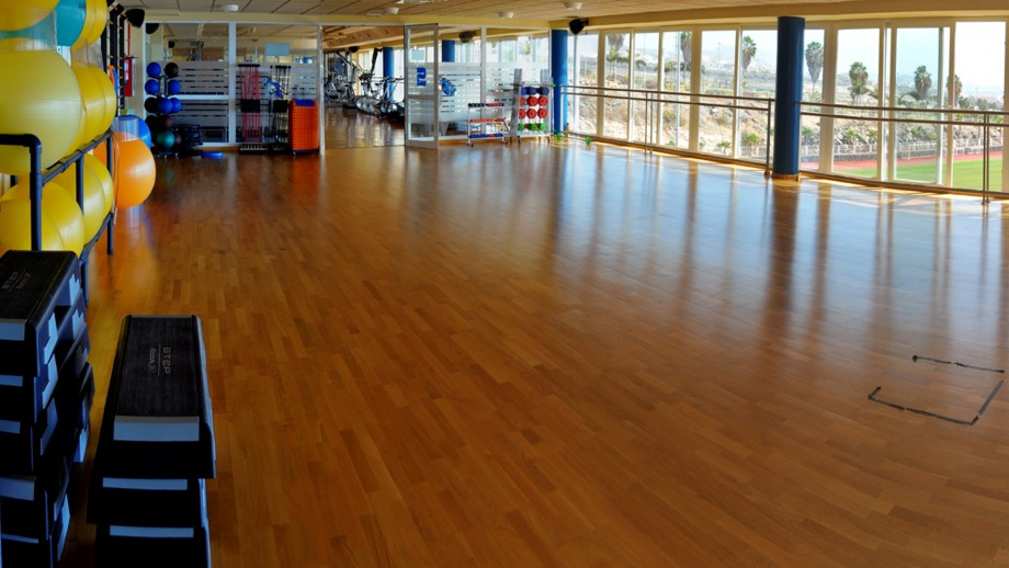Gym area for groupsessions and courses