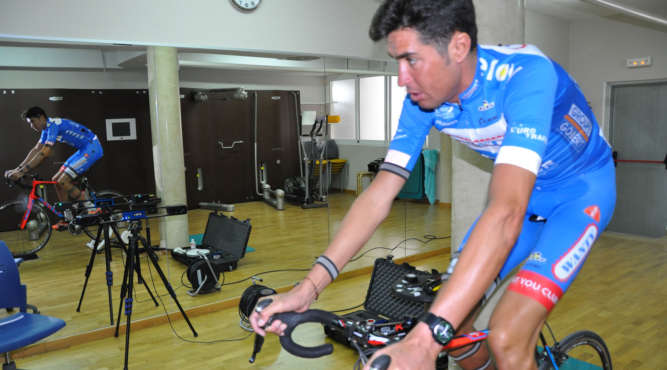 Analysing the perfect adjustment of a bike