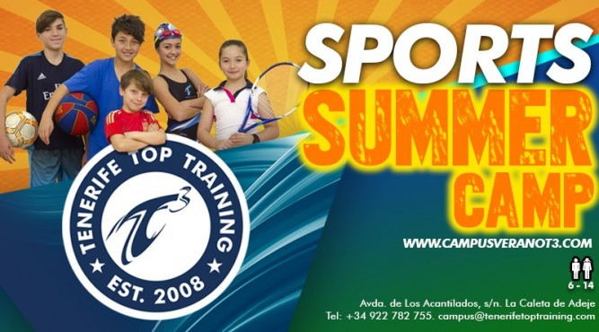 The perfect summer for kids, childrens and their parents in our summer sport camp
