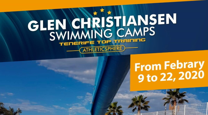INTERNATIONAL MASTERS' SWIM CAMP WITH FLEXIBLE ARRIVAL + DEPARTURE DATES 09.02.2020 – 22.02.2020