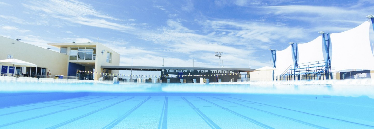 the perfect warm weather swimming camp in Tenerife Top Training with the outdoor Olympic pool