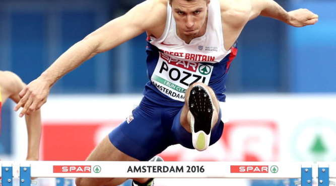 andrew pozzi athletics training camp hurdle tenerife