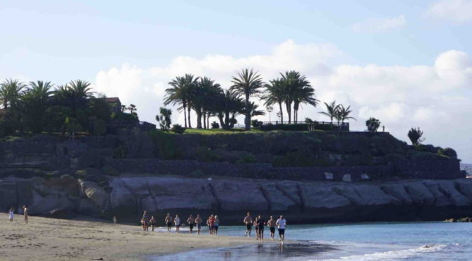 ultimate fitness holidays beach tenerife spain