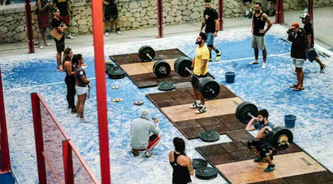 cross-training boxes olympic weightlifting fitness resort europe