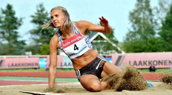 sanna nygard triple jump athletics training camp tenerife