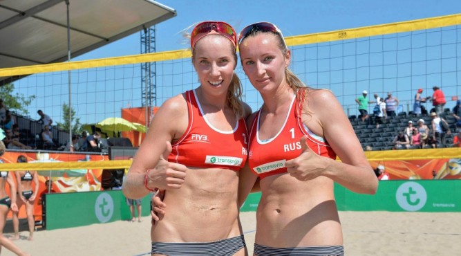 Beachvolleyteam Ukolova Birlova