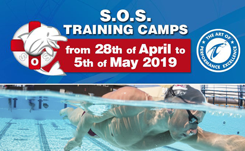 S.O.S. Training Camps is a perfect opportunity to improve your swimming techniques. In April 2019 the next camps starts! Book now.
