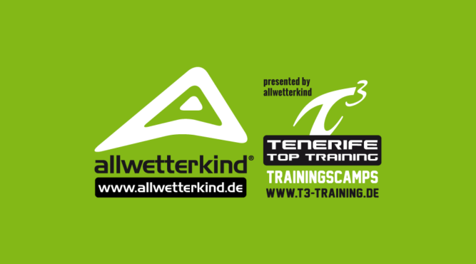 AllWetterkind Trainingcamps for Triathlon and Swimming. The logo of Allwetterkind a cooperation partner of the Tenerife Top Training offering Trainingcamps for Swimmers and Triathletes. Click here to find more.