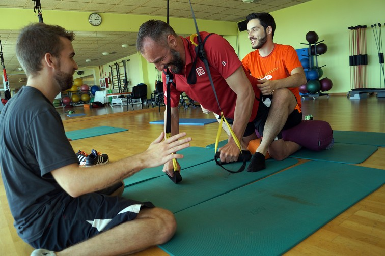 our coaches are used to work with disabled athletes. no matter what requests you have, we can help.