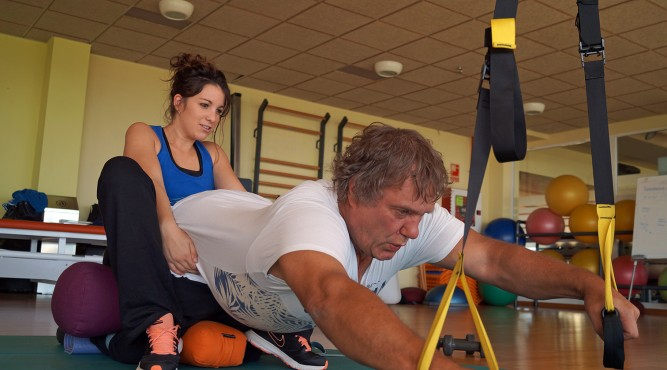 book a private training and our coaches will help you to improve your fitness however you want.