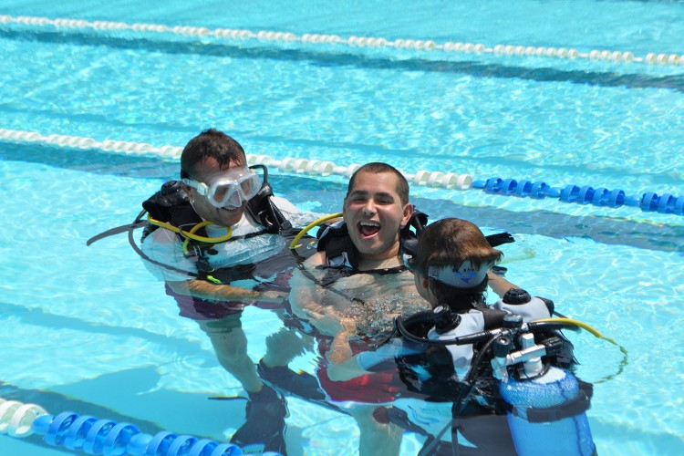 100% barrier-free for wheelchair users and customers with restricted mobility that is our Olympic pool
