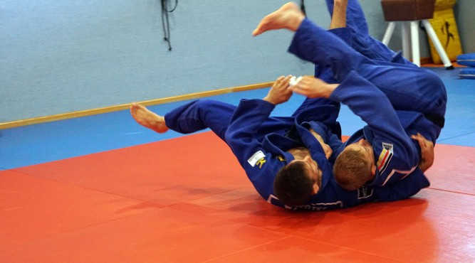judo training camp german national