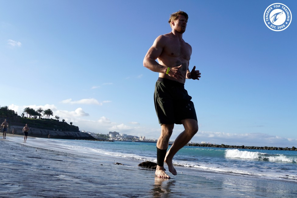 CrossFit BEach Wod at the beautiful beach of Playa del Duque