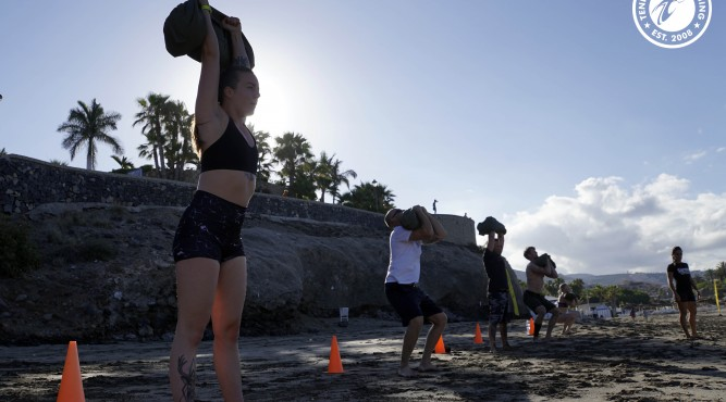 The best in CrossFit Holidays is the Beach WOD