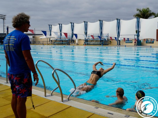 During this camp the main focus lies on the technique of the different swimming strokes
