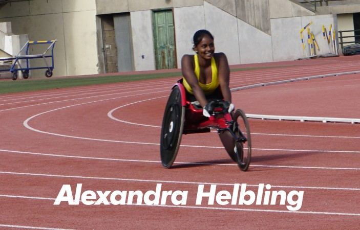 Alexandra Helbling is a worldclass athlete who already won a european championship