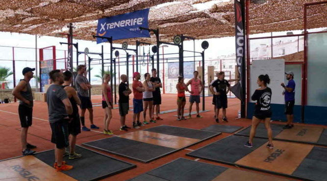 Fitness Boot Camps by INVICTUS and Tenerife Top Training are run by certificated trainers