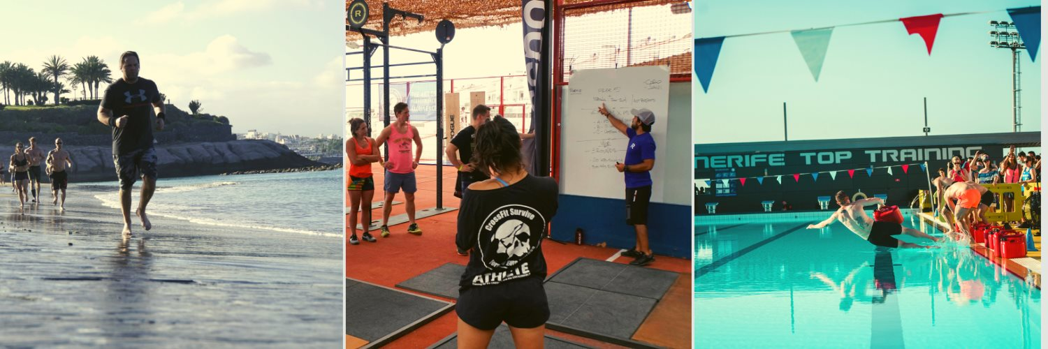 This CrossFit camp offers you all training possibilities like WODS on the beach, in the box or in the swimming pool