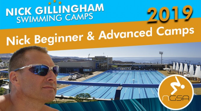 Join Nick Gillingham for one of his awesome Swim Camps at Tenerife Top Training and improve your swimming skills!