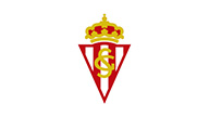 Logo des Real Sporting Gijon im Fußball Trainingslager beim Tenerife Top Training
