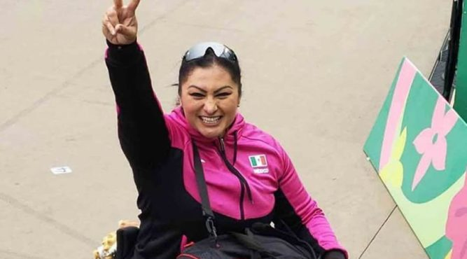 The Paralympic winner in shot-putting, Angeles Ortiz, trained at the Tenerife Top Training several times.