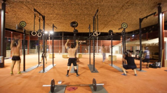 the athletes can do any kind of WOD at our two cross-training boxes