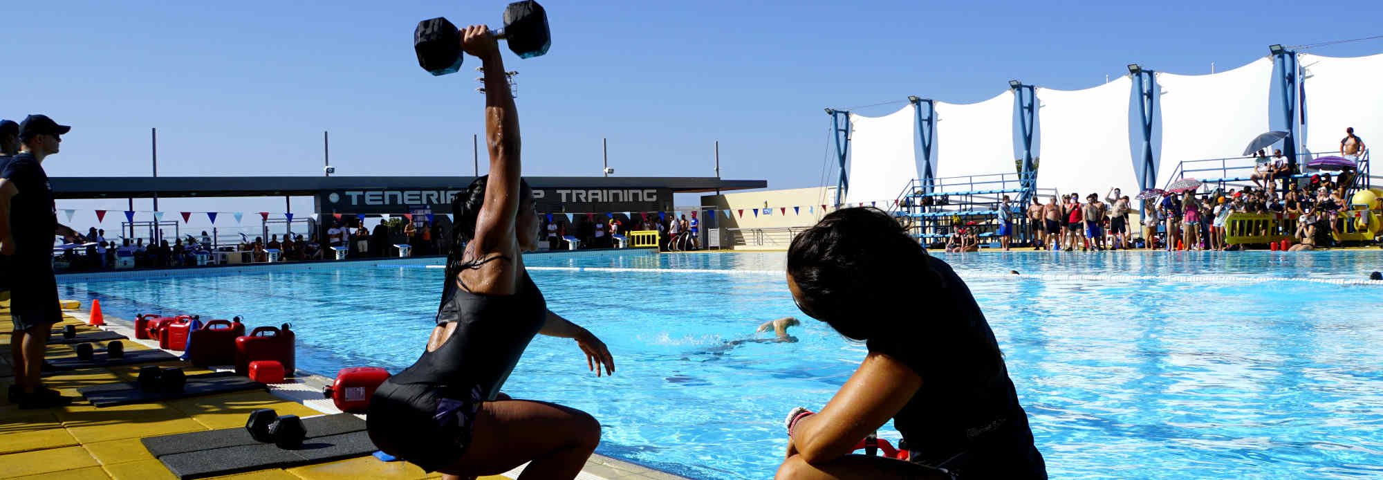 Individual Fitness Camps in the sun of Spain with awesome Pool Wods