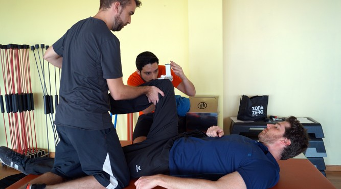 The T3 is also a good place for a rehab camp. If you had an injury, we'll help you get fit.