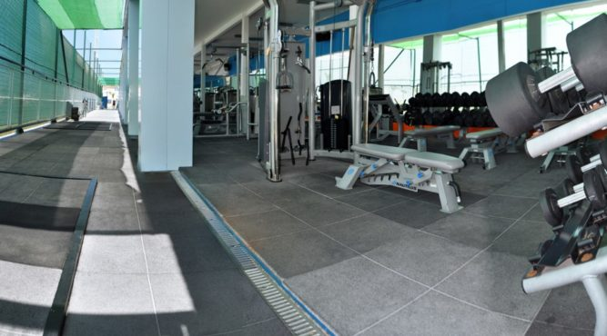 The outdoor gym can be used freely during your fitness holiday at the Tenerife Top Training
