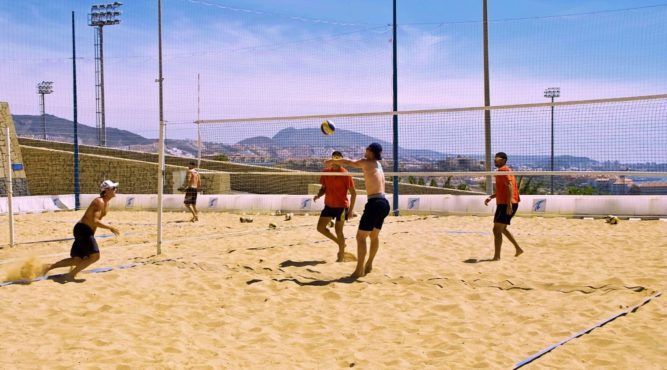 the tenerife top training makes it possible for you to improve your volleyball game