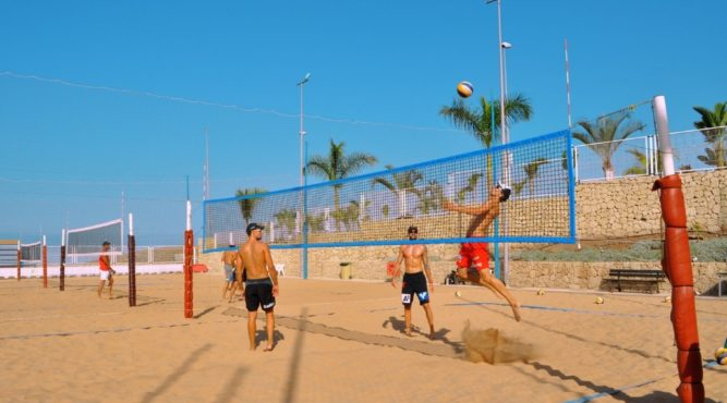 The level of beach volleyball in the T3 is very high and the performance of individual players is improved in each training