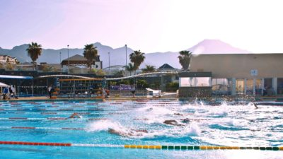 Tenerife Top Training with its Olympic pool is in near of the beach and also you can see the mountains