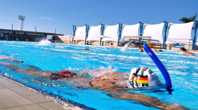 swim training camps spain german national team