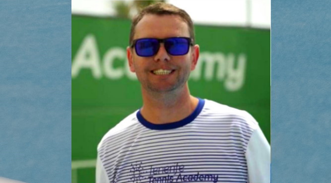 Kris Gray, LTA Master performance coach (who ran the regional performance program in Glasgow, Scotland)