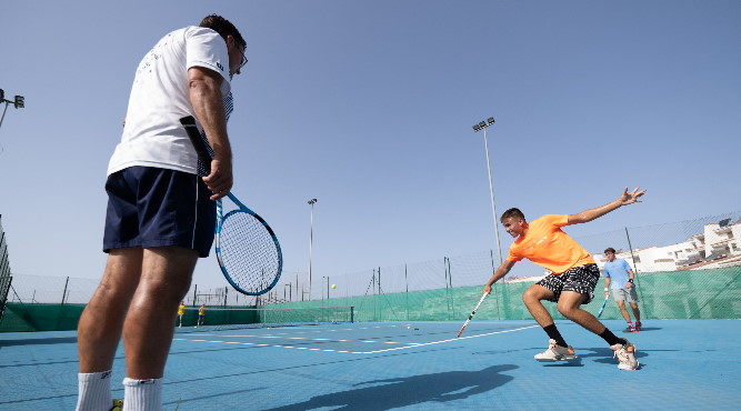 this is the perfect place to organise tennis holidays or camps with your federation or academy