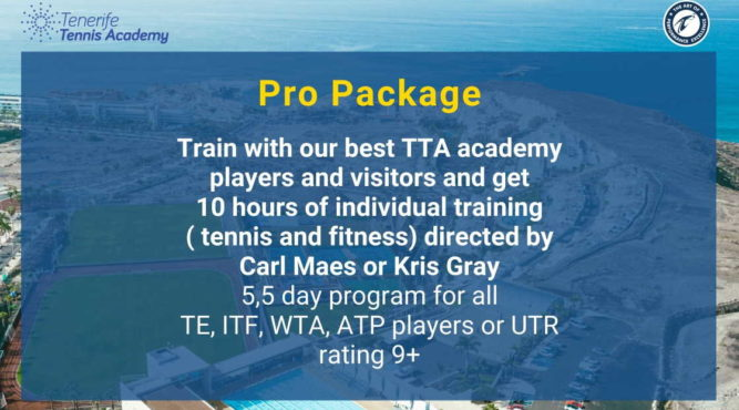 Train with our best TTA academy players and visitors directed by Carl Maes or Kris Gray