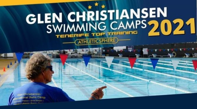PERFECT SWIMMING CAMPS WITH GLEN CHRISTIANSEN TENERIFE