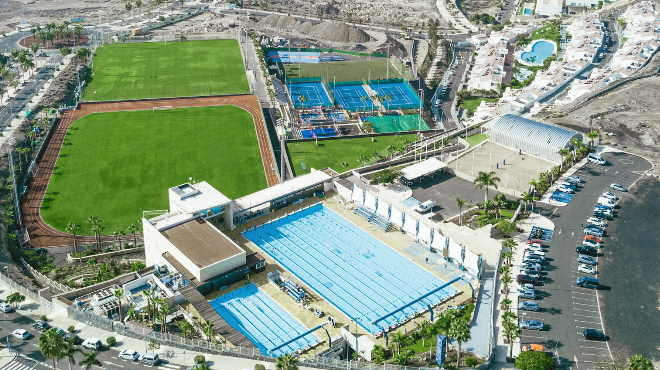 Professional beach volleyball training camp in Spain Tenerife at the Tenerife Top Training sports centre