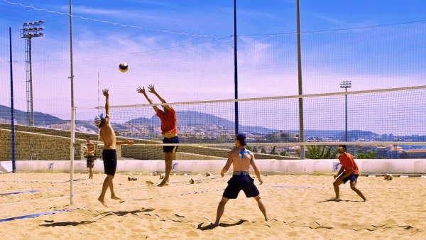 The facilities for beach volleyball in T3 are perfect for training camps