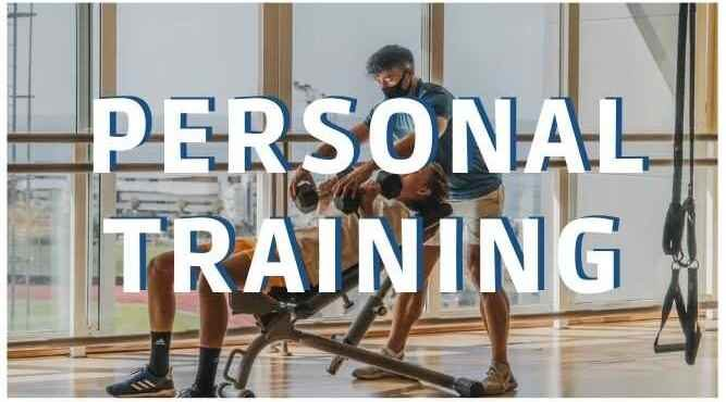 Clickable photo to the page of Personal training