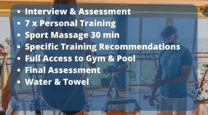 Fitness package for all level